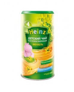 Чай Хайнц 200г фенхелевый с 4 мес